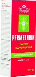 Средство, Миролла Перметрин педикулицидное 1.5% 100 мл